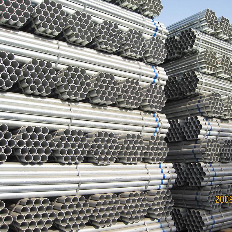 AS1163 hot dip galvanized erw Scaffolding steel pipe
