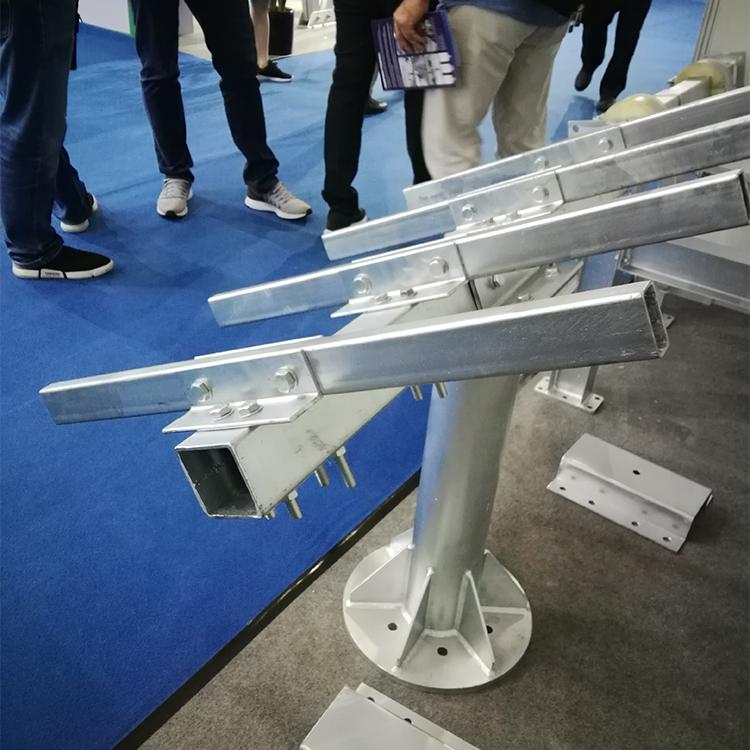 galvanized square pipe for solar tracker