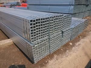 galvanised square pipe